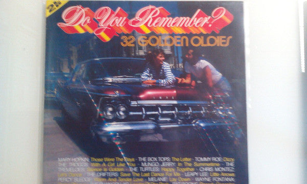 Various ‎– Do You Remember? 32 Golden Oldies  2LP