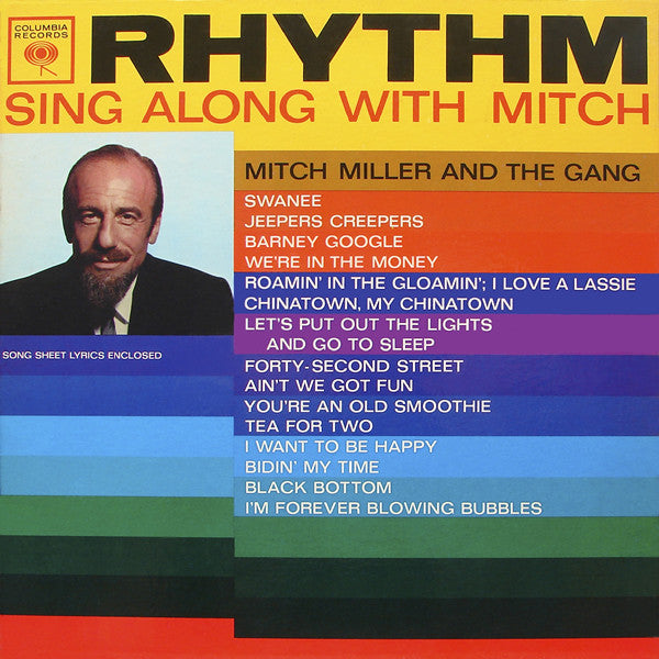 Mitch Miller And The Gang ‎– Rhythm / Sing Along With Mitch
