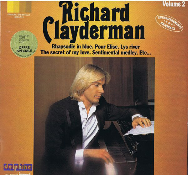 Richard Clayderman ‎– Volume 2