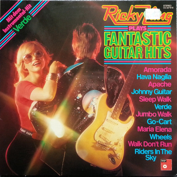 Ricky King ‎– Ricky King Plays Fantastic Guitar Hits