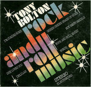 Tony Bolton (2) ‎– Rock And Roll Music