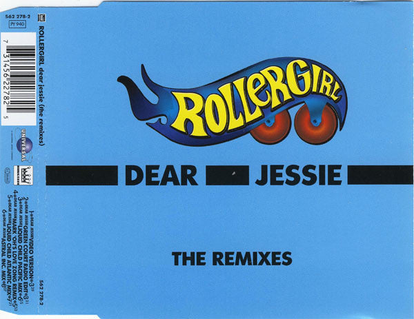 Rollergirl ‎– Dear Jessie (The Remixes)
