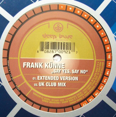 Frank Künne ‎– Say Yes Say No