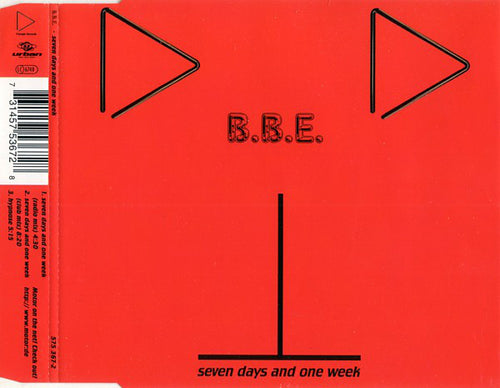 B.B.E. ‎– Seven Days And One Week