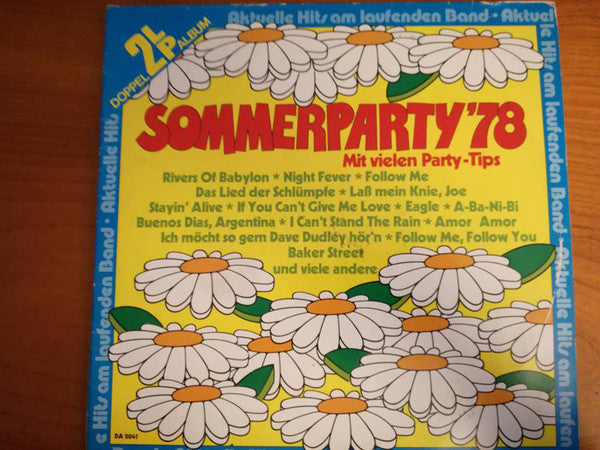 Unknown Artist ‎– Sommerparty 78 ( 2LP )