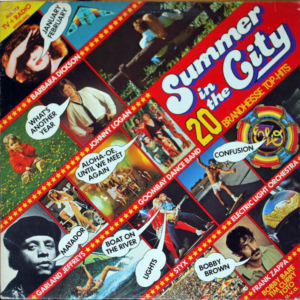 Various ‎– Summer In The City - 20 Brandheisse Top-Hits