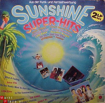 Various ‎– Sunshine Super Hits ( 2 LP )