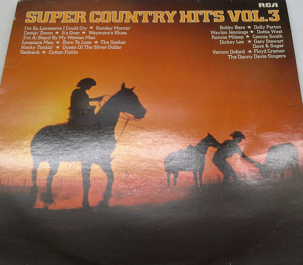 Various ‎– Super Country Hits Vol 3
