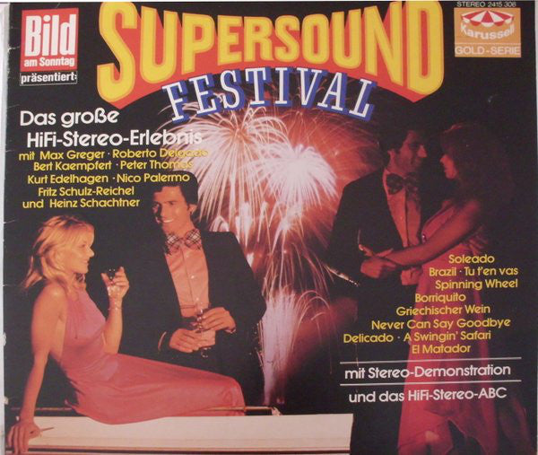 Various ‎– Supersound Festival