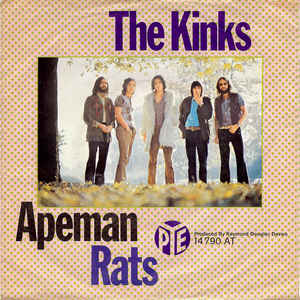 The Kinks ‎– Apeman / Rats