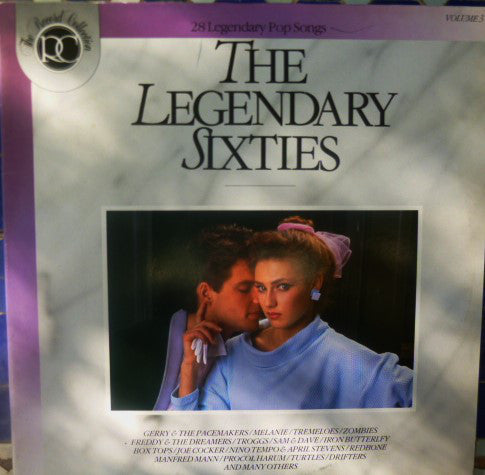 Various ‎– The Legendary Sixties - 28 Legendary Pop Songs ( 2LP )