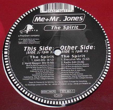 Me & Mr. Jones ‎– The Spirit