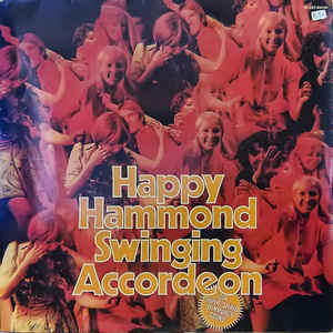 Die Ticos ‎– Happy Hammond, Swinging Accordeon (2LP)