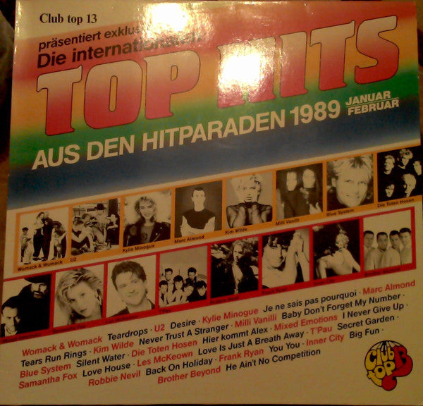 Various ‎– Club Top 13 - Die Internationalen Top Hits Aus Den Hitparaden - Januar/Februar 1989