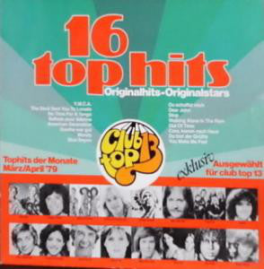 Various ‎– 16 Top Hits - Tophits Der Monate März/April '79