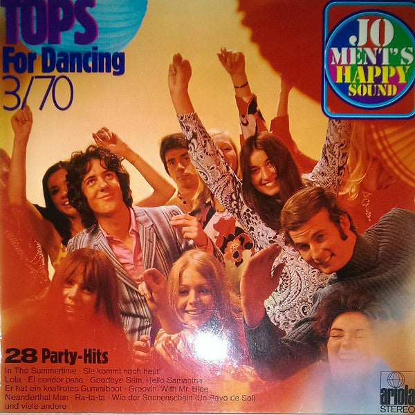 Jo Ment's Happy Sound ‎– Tops For Dancing III/70