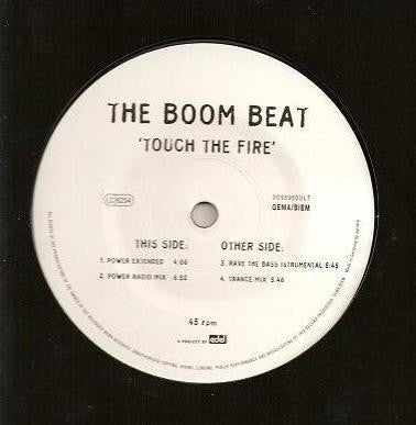 The Boom Beat ‎– Touch The Fire