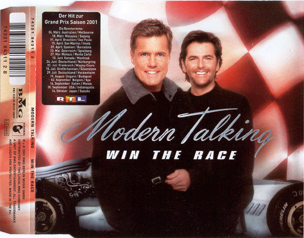 Modern Talking ‎– Win The Race