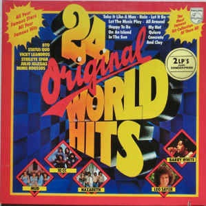Various ‎– 24 Original World Hits   2LP