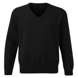 Performa Unisex V Neck Knitted Jumper Plain