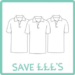 Ecton Village 3 Poloshirts with Logo Bundle