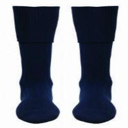 Wrenn Navy Socks