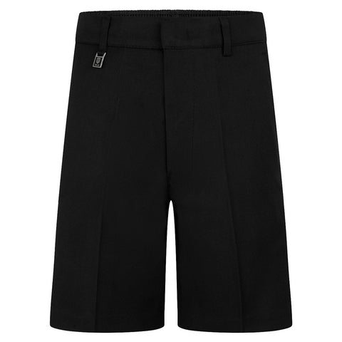 Zeco Unisex BS3076 Standard Fit Black shorts