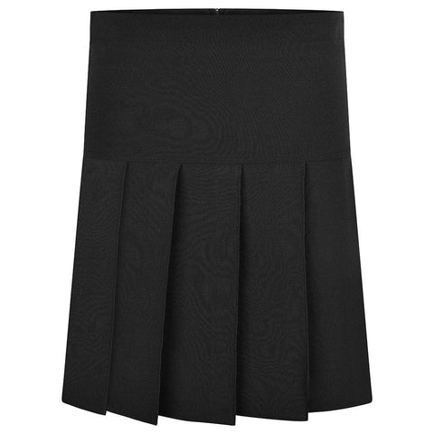 Innovation Black Pleated Skirt