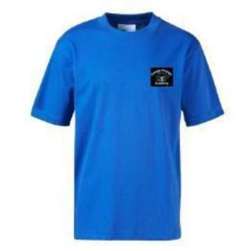 CLEARANCE Grange Primary PE Teeshirt with Logo