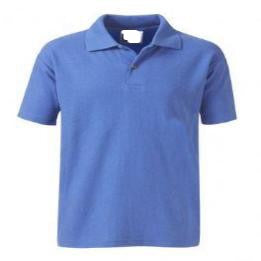 Warwick Academy Royal Poloshirt with Logo
