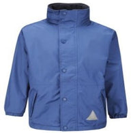 St Andrew's Primary Royal Storm Dry Reversible Jacket with Logo