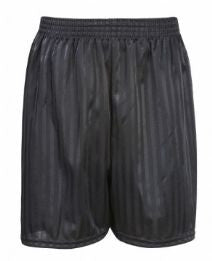 Victoria Primary Black PE Shorts