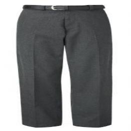 Falmouth Boys Grey Flat Front Trousers
