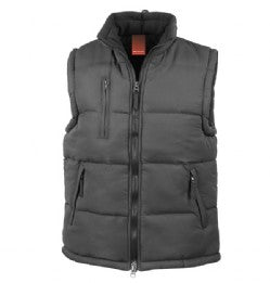 Team Balancise Black Bodywarmer with Logo