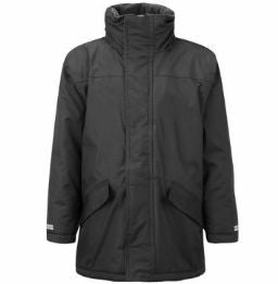 Victoria Primary Black Parka Jacket