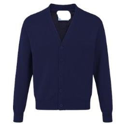 Warwick Academy Essential Sweatcardigan with Logo