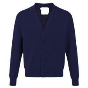 Ruskin Junior Sweatcardigan with Logo