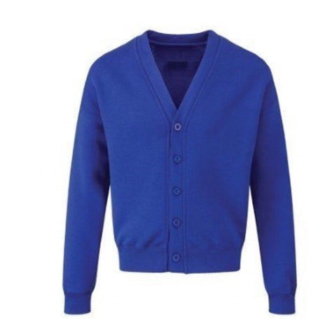 St Andrew's Primary Essential Royal Sweatcardigan with Logo