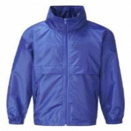 St Andrew's Primary Royal Lightweight Showerproof Jacket wit Logo