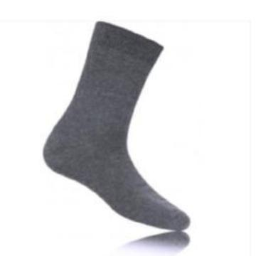 Grey Ankle Socks