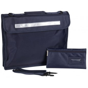 Plain Navy Despatch Bag