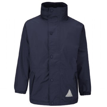 Portfields Navy Storm Dry Jacket with Logo