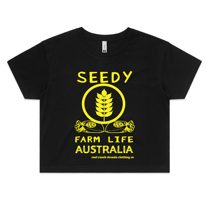 Seedy Ladies Crop Tee