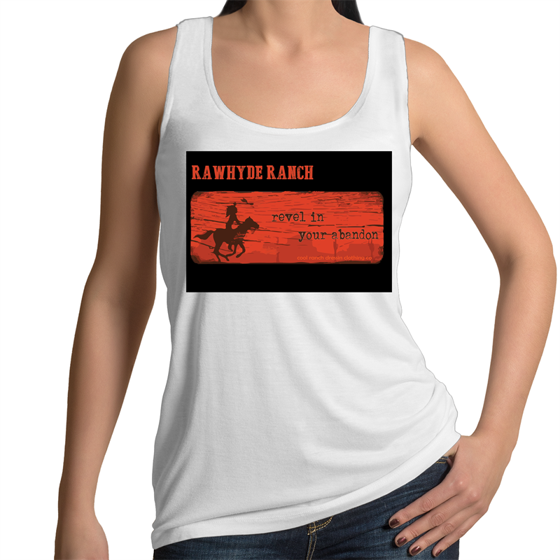 Revel In Your Abandon Ladies Tank Top