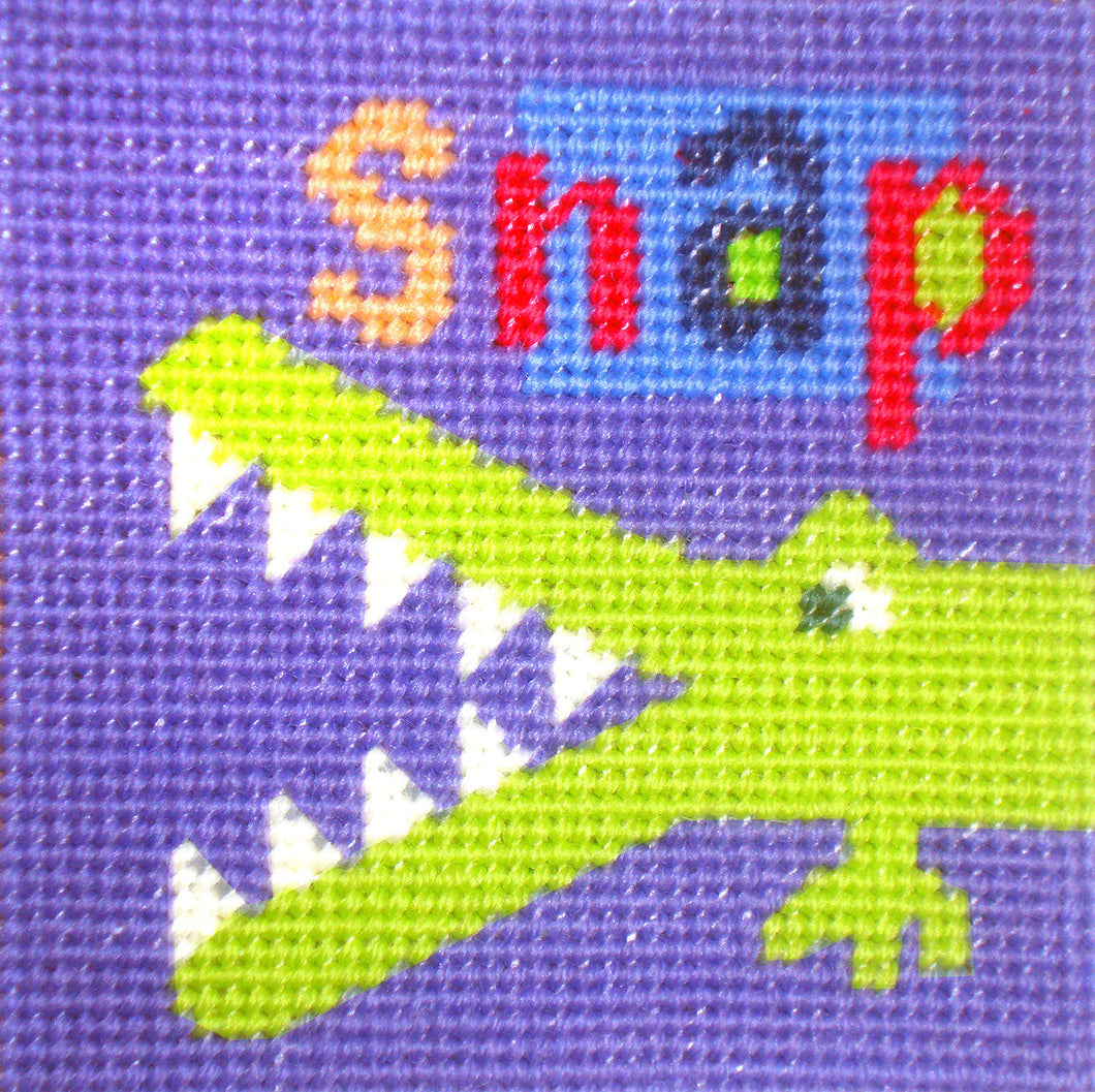Croc Needlepoint Kit