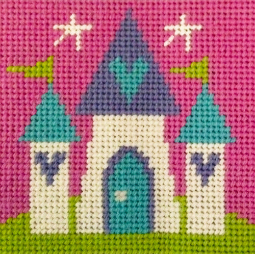 Fairy Castle Needlepoint Kit