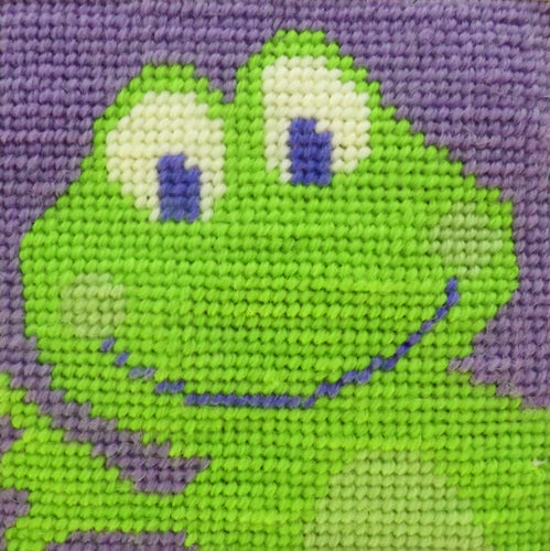 Frog Needlepoint Kit