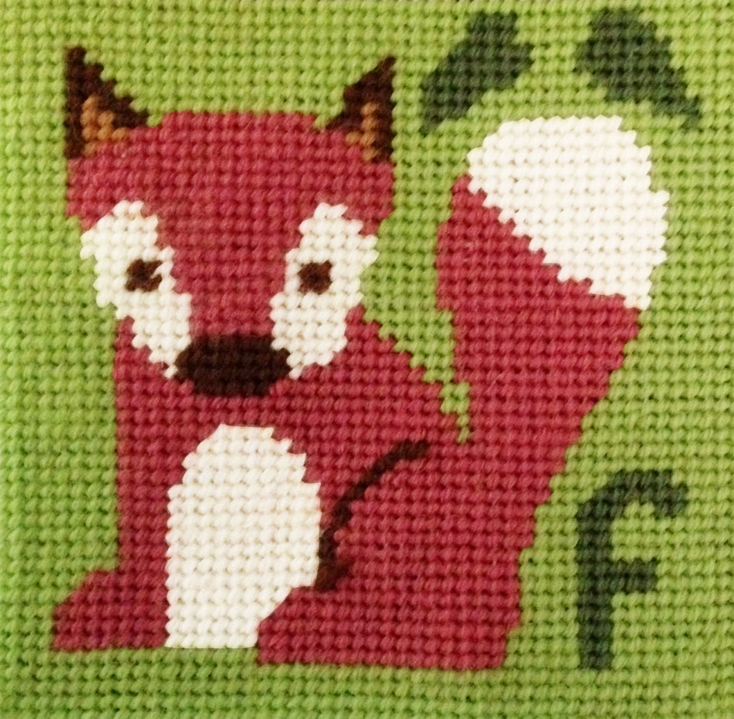 Fox Needlepoint Kit