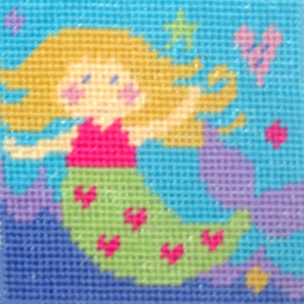 Mermaid Needlepoint Kit