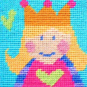 Princess Needlepoint Kit